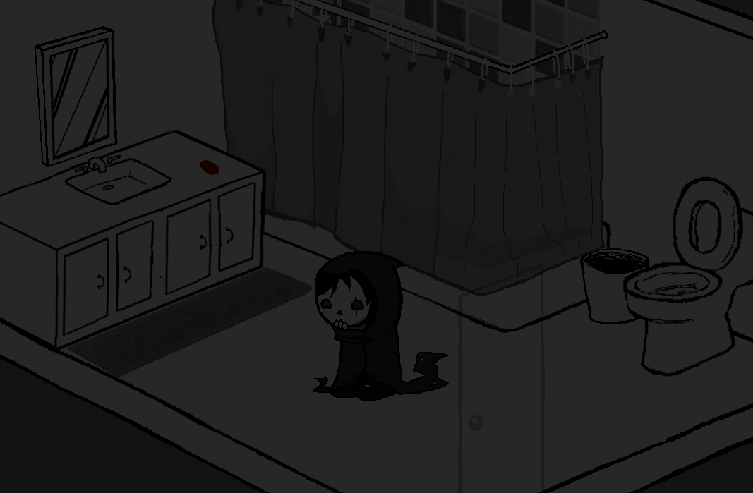 veneri sitting in the middle of a spacious bathroom